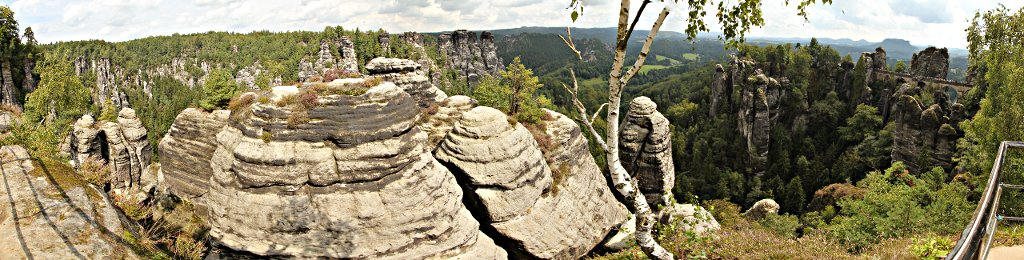 Bastei, Saxon Switzerland, Saxony, Germany