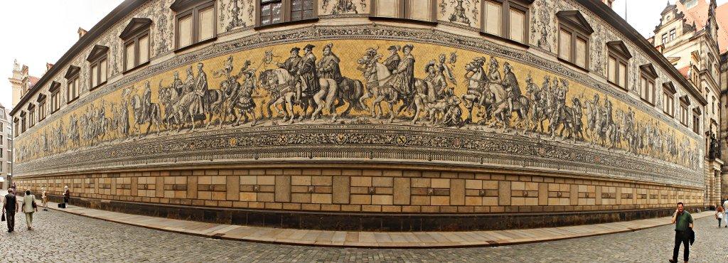 Fürstenzug, Dresden, Saxony, Germany