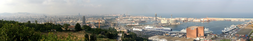 Barcelona Panorama 2