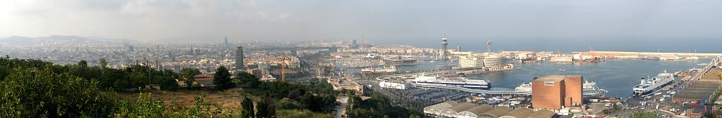 Barcelona Panorama 2